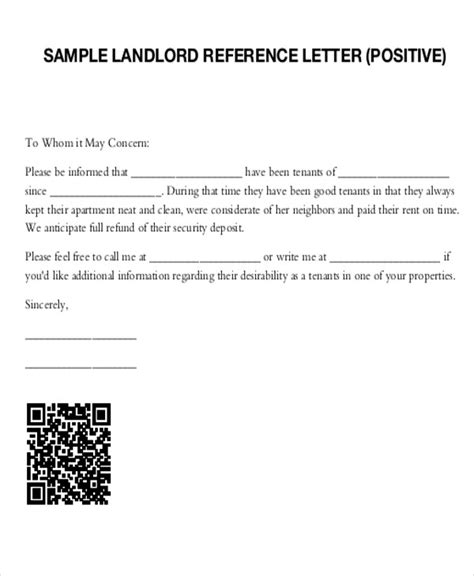Prospective Tenant Reference Letter 5 Sle Tenant Recommendation Letter Free Sle Exle Format