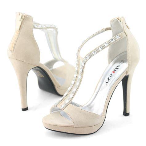 Best Seller Sepatu Wedges Wanita Suede 7cm Shoes 7cm Wedges aliexpress buy shoezy wedding shoes beige zip high