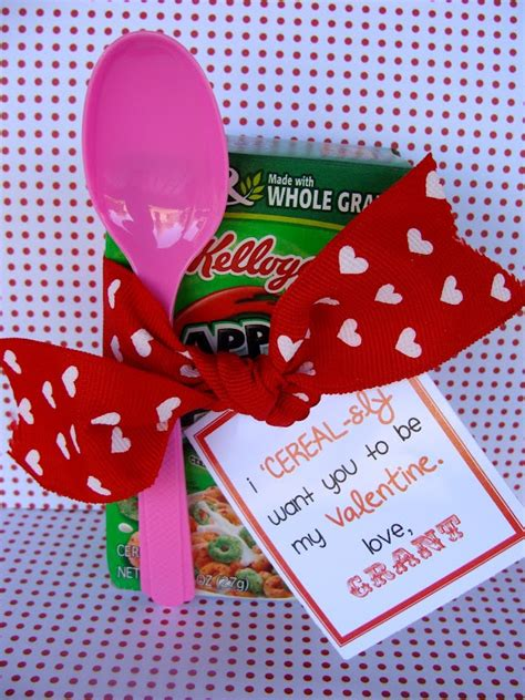 cute valentine themes marci coombs cereal sly cute valentine idea vantines