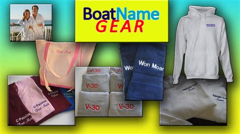 gifts for fishing boat owners boatnamegear offers personalized gifts for boaters