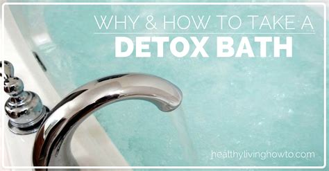 What To Take To Detox From by Detox Bath