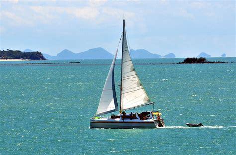 sailing charter catamaran nautiness ii sailing thailand - Catamaran Charter In Thailand