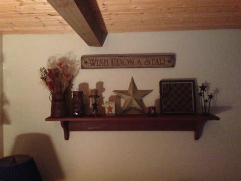 Primitive Shelf Decorating Ideas by Primitive Shelf Decor Shelves Signs And
