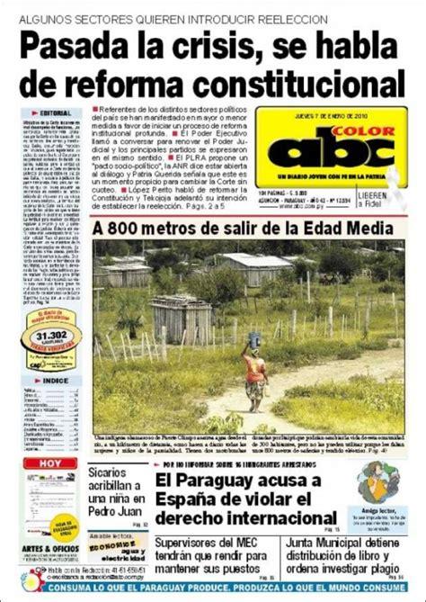 abc color paraguay peri 243 dico abc color paraguay peri 243 dicos de paraguay