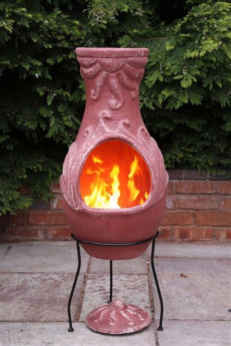 Outdoor Chiminea Clay by Mexican Clay Chimenea Clay Chiminea Patio Heater