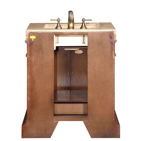 5 vanity top single sink 32 5 quot single sink cabinet travertine vanity top sink 3