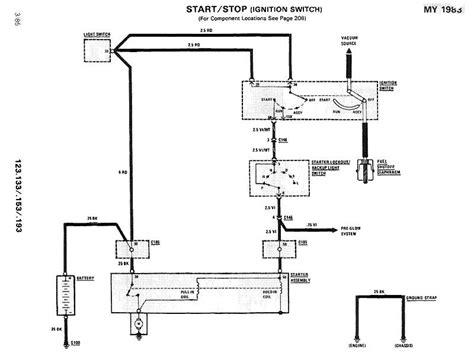 starter wiring diagram peachparts mercedes shopforum