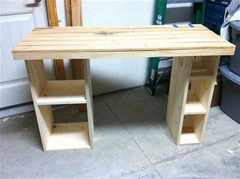 woodwork computer desk plans build  plans