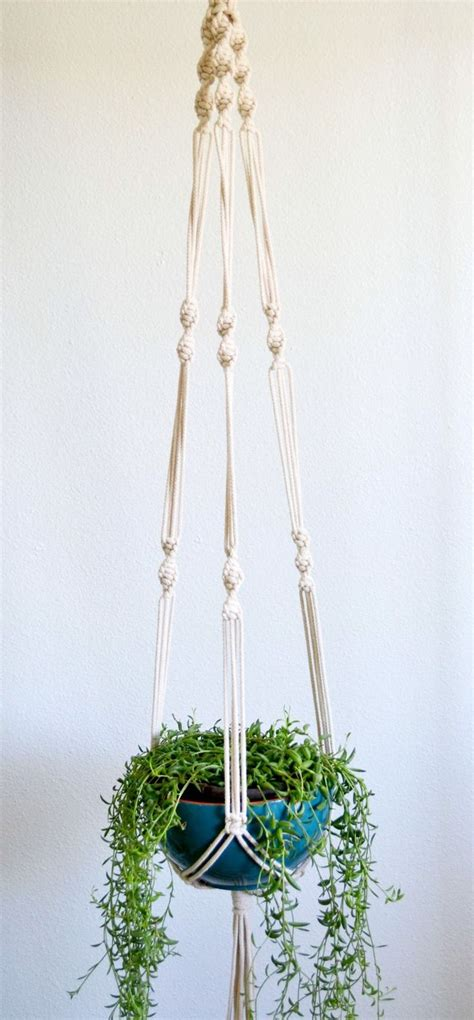 How To Macrame A Plant Holder - 25 unique macrame plant hangers ideas on