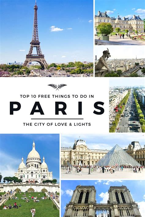 if you are on a tour to france then paris happens to be on top of have fun in paris with free attractions vfs portugal visa