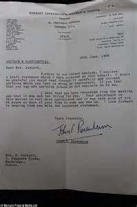 Divorce Letter From Solicitor Paul On The Run Lennon S Glasses And Divorce Papers To Fetch 163 20 000 At Auction