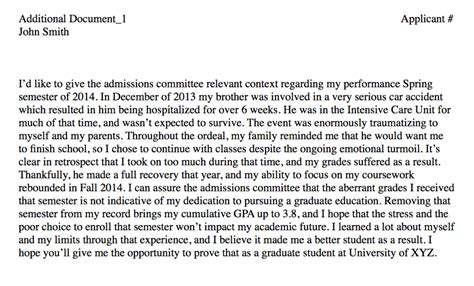 Explanation Letter For Low Sales Performance Explaining A Low Gpa In Your Statement Of Purpose Academical Academical