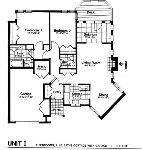 cottage floor plans cottage floor plans modern house