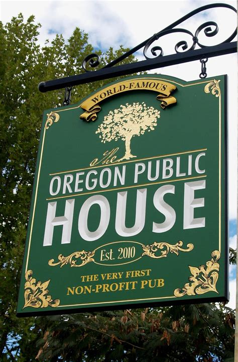 oregon public house the oregon public house sign danthonia designs usa