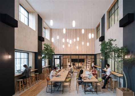 airbnb japan shinjuku airbnb launches nature filled tokyo office that feels like