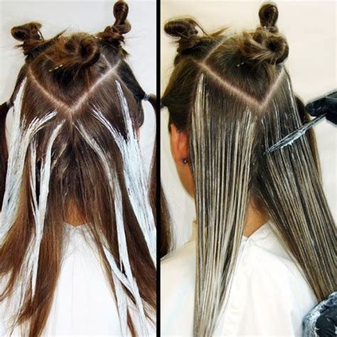 sectioning hair for highlights best 25 balayage technique ideas on pinterest baylage