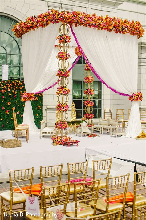 floral decor floral decor in salt lake city ut indian wedding by