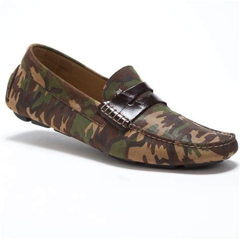 camo loafers mauri 9228 camo suede crocodile driving loafers
