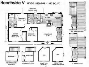 Double Wide Mobile Home Floor Plans by Home Remodeling Double Wide Mobile Home Floor Plans