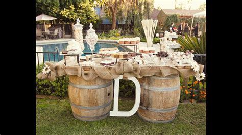 decoracion boda rustica decoraciones de boda r 250 sticas youtube
