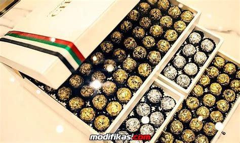 Coklat Kerikil Cokelat Arab rayakan hari kemerdekaan arab buat coklat berlapis emas