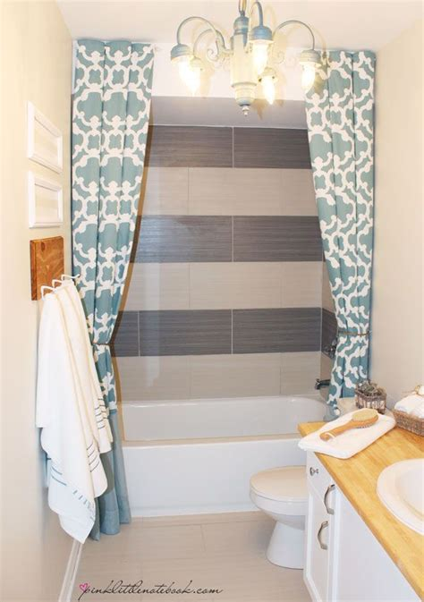 floor length shower curtain best 25 striped shower curtains ideas on pinterest grey