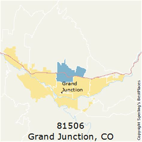 zip code map grand junction co best places to live in grand junction zip 81506 colorado