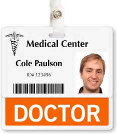 dr name tag template doctor badge buddy horizontal id position identity card