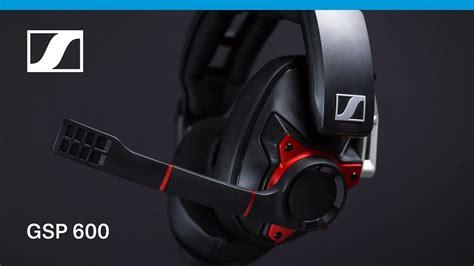 Crystalroc Blings Up Sennheiser Luxury Headphones by Sennheiser Gsp 600 Professional Gaming Headset