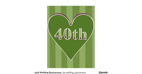 40th Wedding Anniversary Gifts by 40th Wedding Anniversary Gifts Postcard