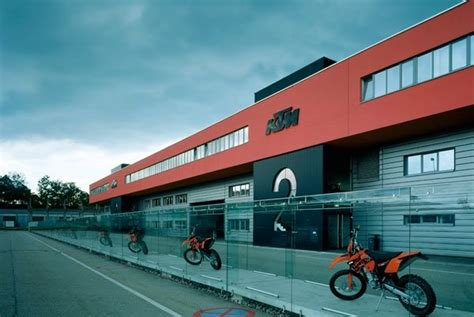 Ktm Factory Austria Location Ktm Factory In Mattighofen Austria Ktm