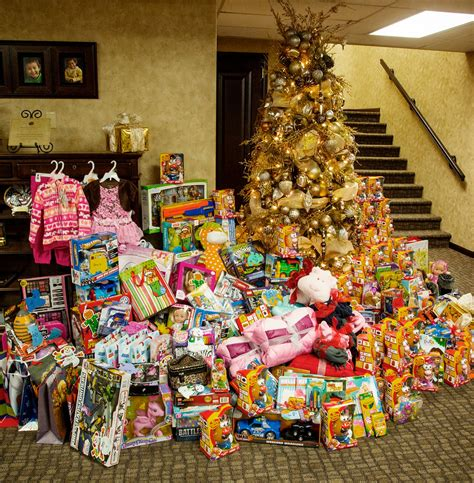 christmas tree donation bizmojo idaho melaleuca employees donate food presents for regional charity effort