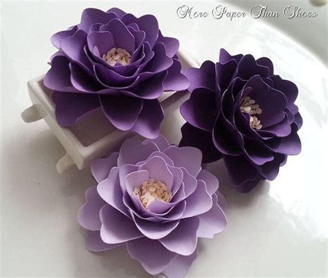 lavender paper flower tutorial paper flowers wedding decor table decorations shades