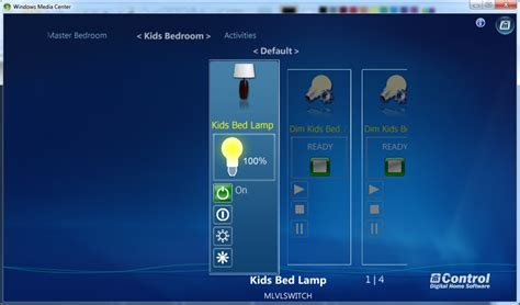 home automation with windows media center mcontrol v3