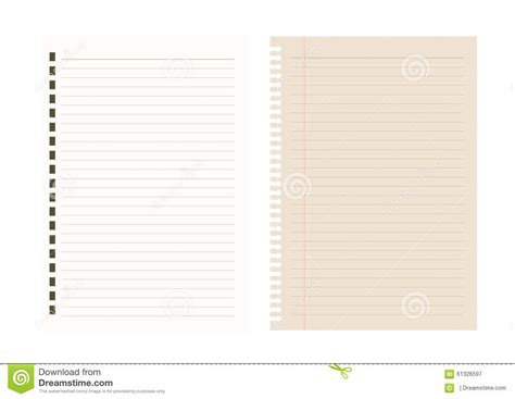 notebook paper pattern notebook paper background line pattern vector
