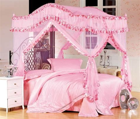 girls twin canopy bed pinterest the world s catalog of ideas