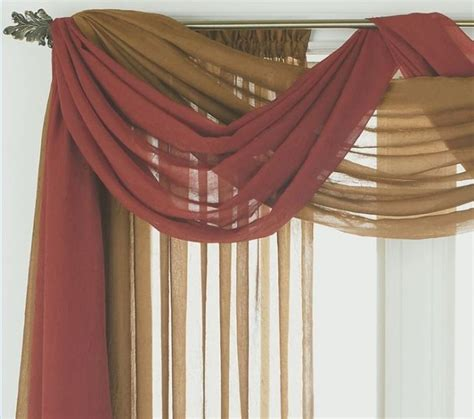 how to hang curtain on metal door how to hang scarf window treatments bridal shower www