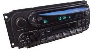 2005 Jeep Liberty Radio 2005 2007 Jeep Liberty Factory Am Fm Radio Cassette Cd