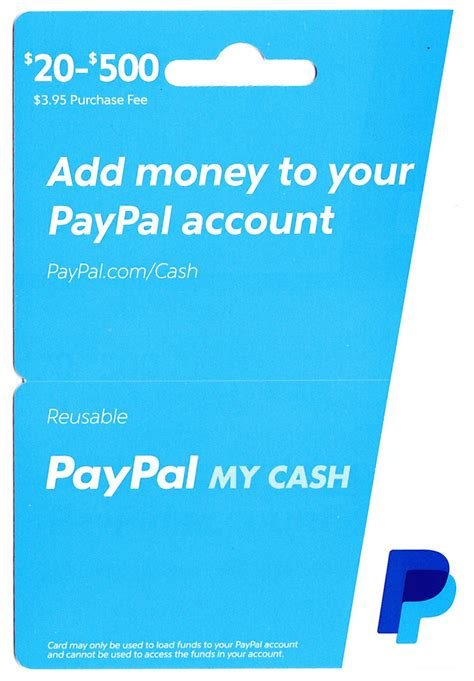 Purchase Paypal Gift Card Online - new paypal my cash cards and online loading process light blue ppmcc 0215v1