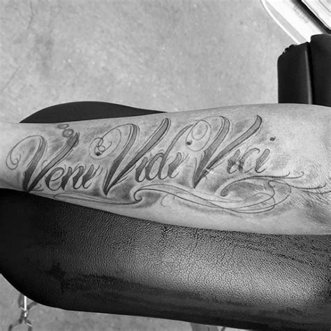 vidi veni vici tattoo designs 60 veni vidi vici designs for julius caesar ideas