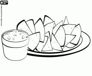 coloring pages mexican food mexican food coloring pages printable games