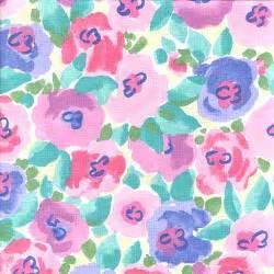 Flamingo Rug Sheet Set Posies Pink Floral Print