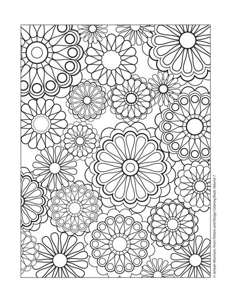 coloring patterns design patterns coloring pages free coloring pages