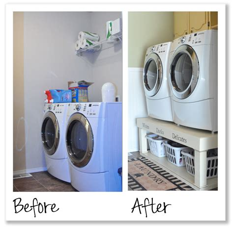 small laundry room before and a snazzy laundry room makeover she emily or so she