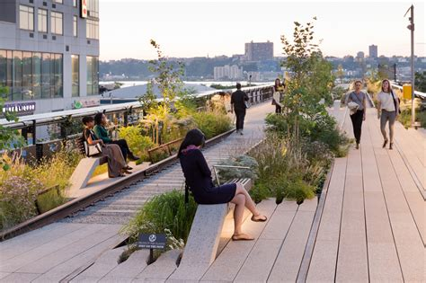 the high line a park the city of new york