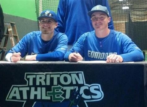 Junior College Letter Of Intent Baseball edmonds community college baseball players sign letters of