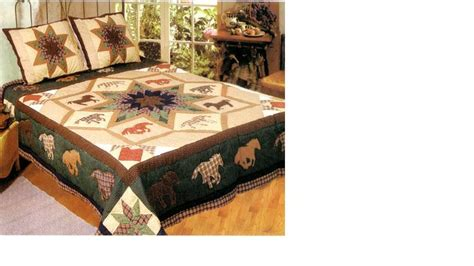 King Size Quilts On Clearance by Buy Running Horses Quilt King Size Bedding 105x95 By