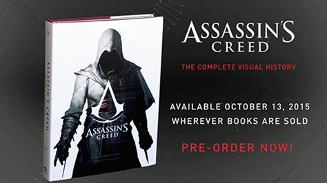 leer assassins creed the complete visual history en assassin s creed the complete visual history being released next week