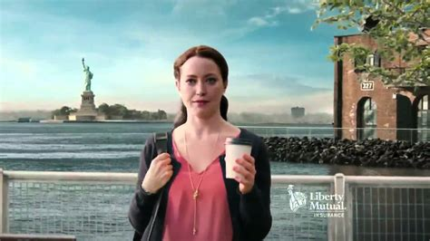 liberty mutual actress with coffee liberty mutual commercial insurance 2019 2020 new car
