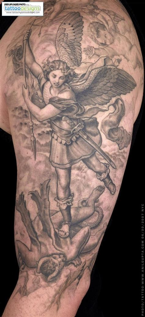 st michael the archangel tattoo st michael the archangel ideas